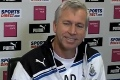 Pardew on Reds test